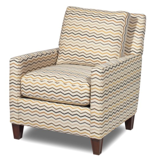 Hickory Craft Accent Chairs Contemporary Accent Chair