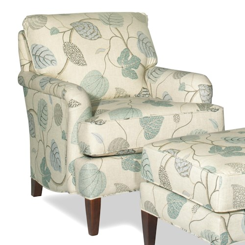 Cozy Life Accent Chairs Transitional Accent Chair with English Arms