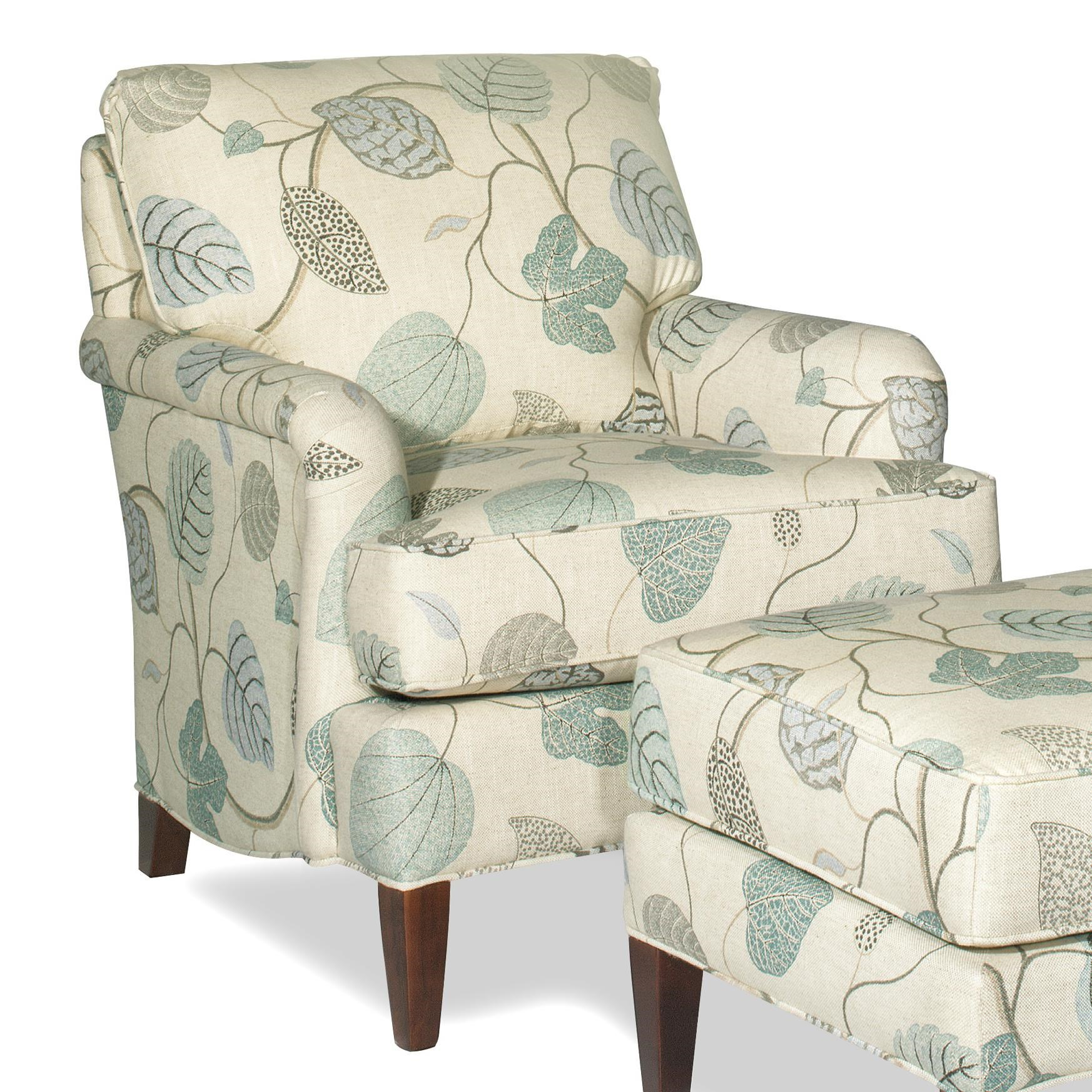 Amazing Hickorycraft Accent Chairs Transitional Accent Chair With English Arms
