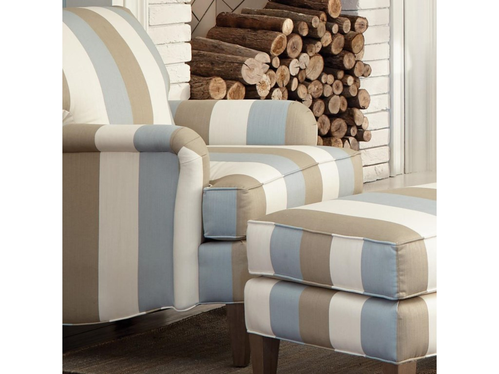 Craftmaster accent chairs transitional accent chair with english arms