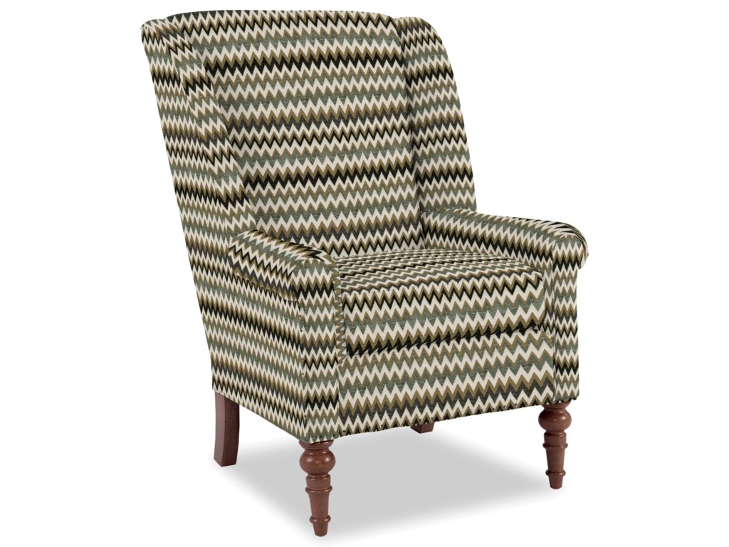 Craftmaster Accent ChairsModified Wing Back Chair