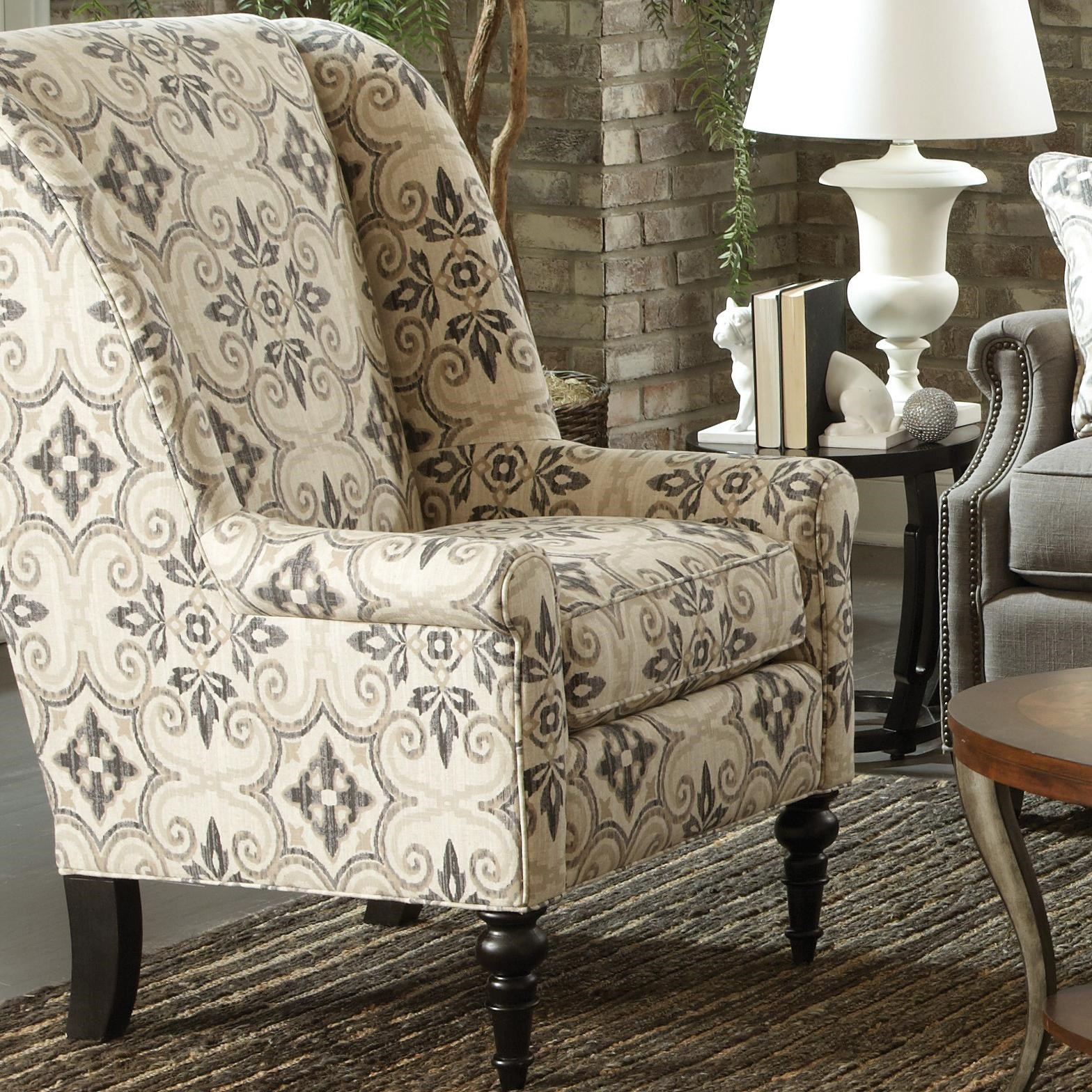 traditional wingback chairs. Craftmaster Accent ChairsModified Wing Back Chair Traditional Wingback Chairs C