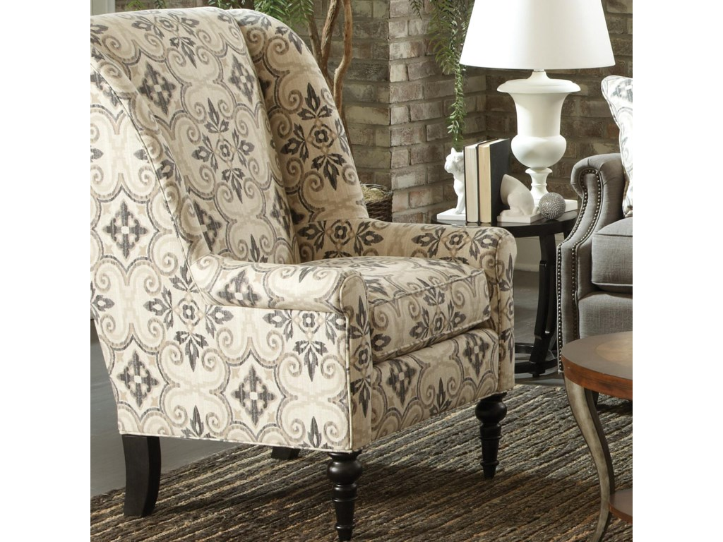 Accent Wingback Chairs Accent Chairs Fabric By Craftmaster Belfort Furniture