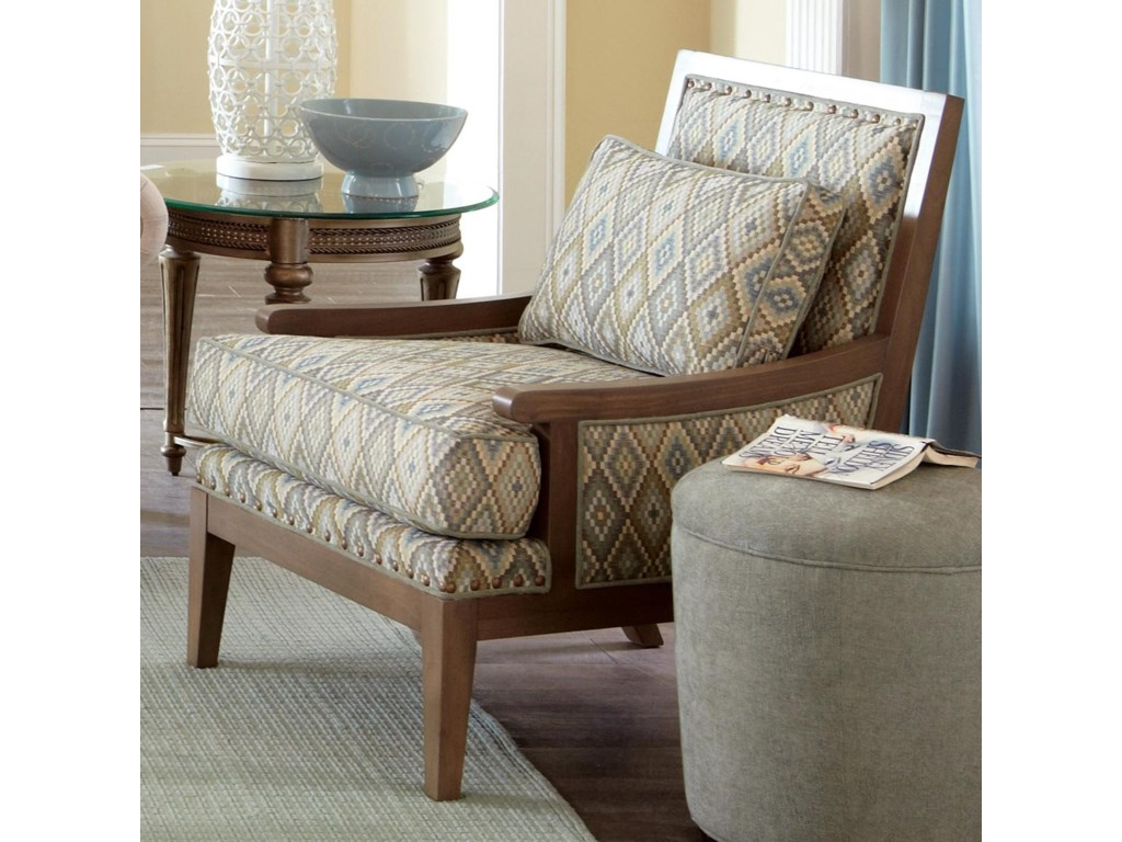 Craftmaster Accent ChairsExposed Wood Accent Chair