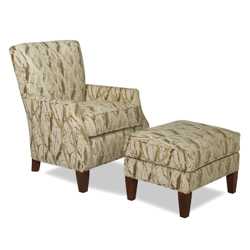 Cozy Life Accent Chairs Contemporary Chair and Ottoman Set