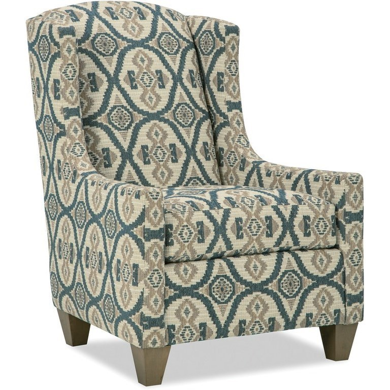 Transitional Wing Chair