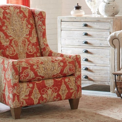 Craftmaster Accent Chairs Transitional Wing Chair J J Furniture Wing Chairs Mobile Daphne