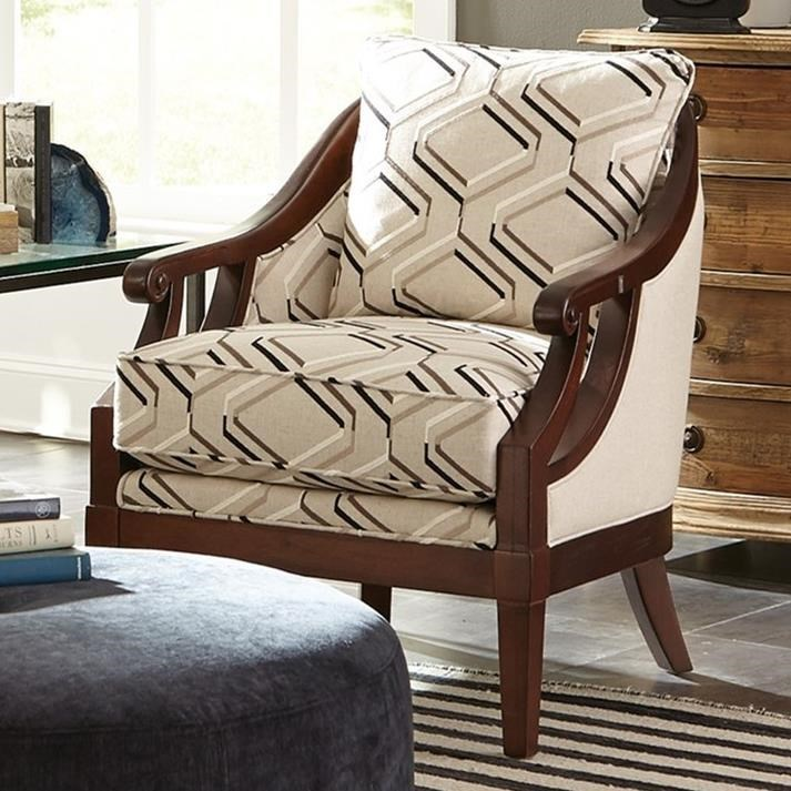 Merveilleux Craftmaster Accent ChairsExposed Wood Chair ...