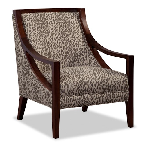 Craftmaster accent chairs contemporary exposed wood chair bullard furniture exposed wood - Essential accent furniture for your home ...