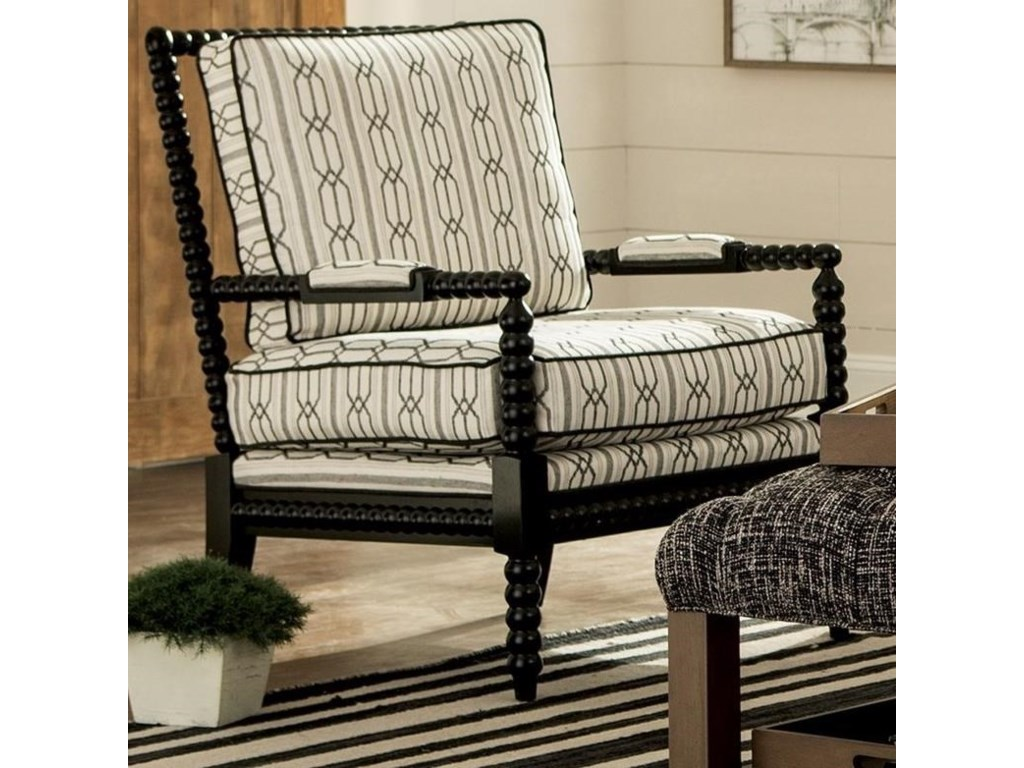 Craftmaster accent chairs traditional chair with spool turned wood frame fashion furniture exposed wood chairs