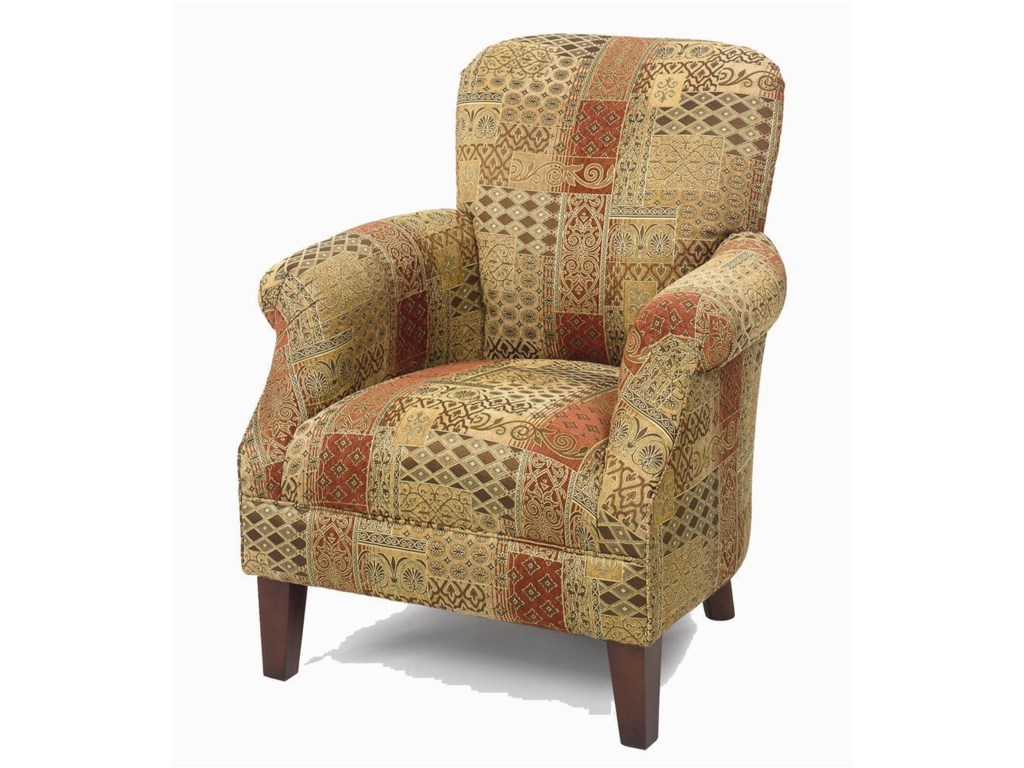 Hickorycraft Accent ChairsTight Back Accent Chair