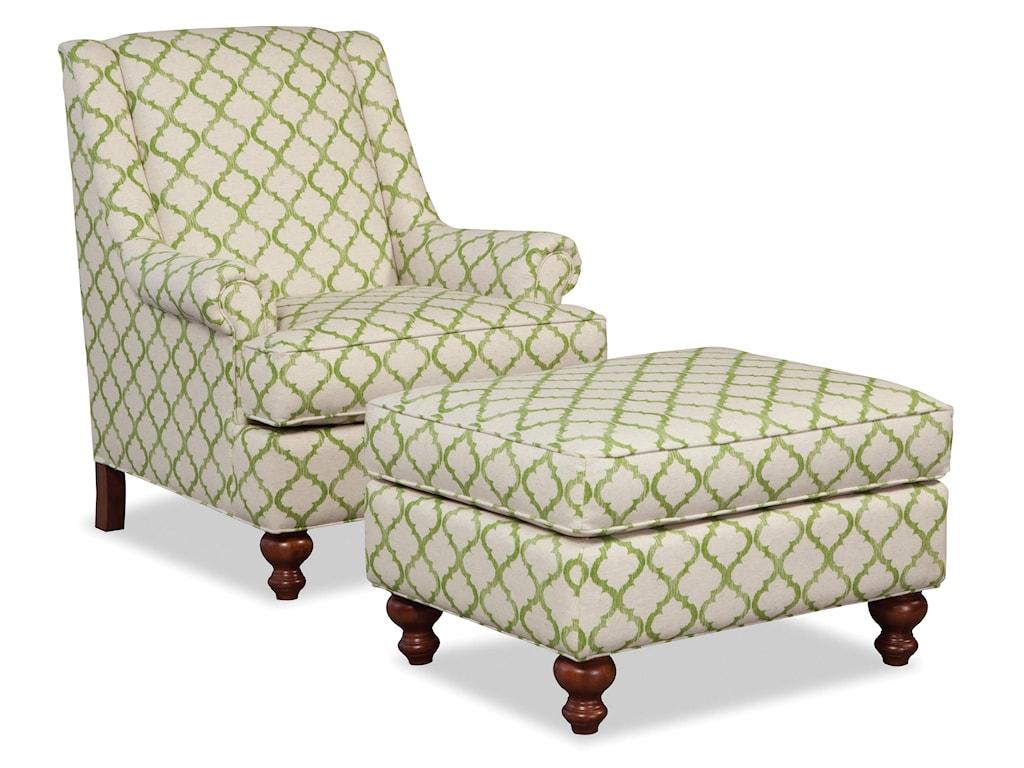 Craftmaster Accent ChairsChair & Ottoman Set
