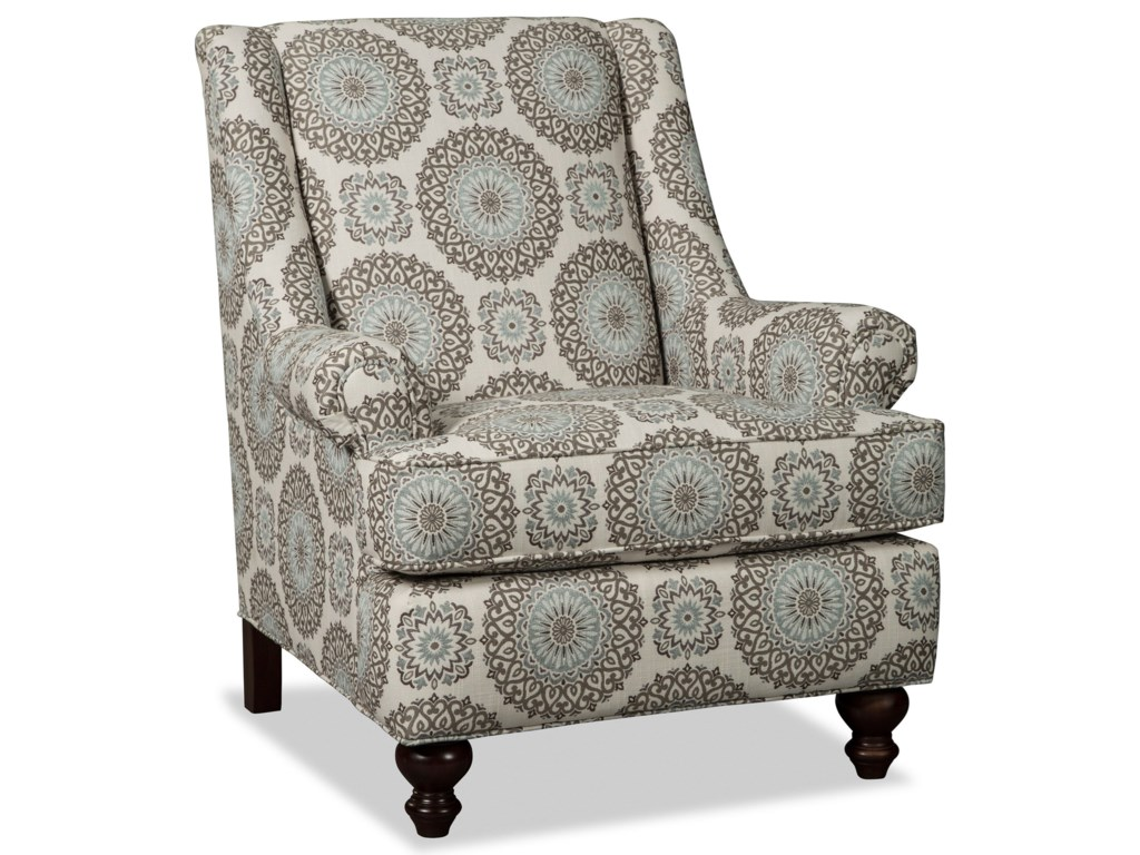 Accent Chairs.Accent Chairs Traditional Chair With Rolled Panel Arms By Craftmaster At Stoney Creek Furniture