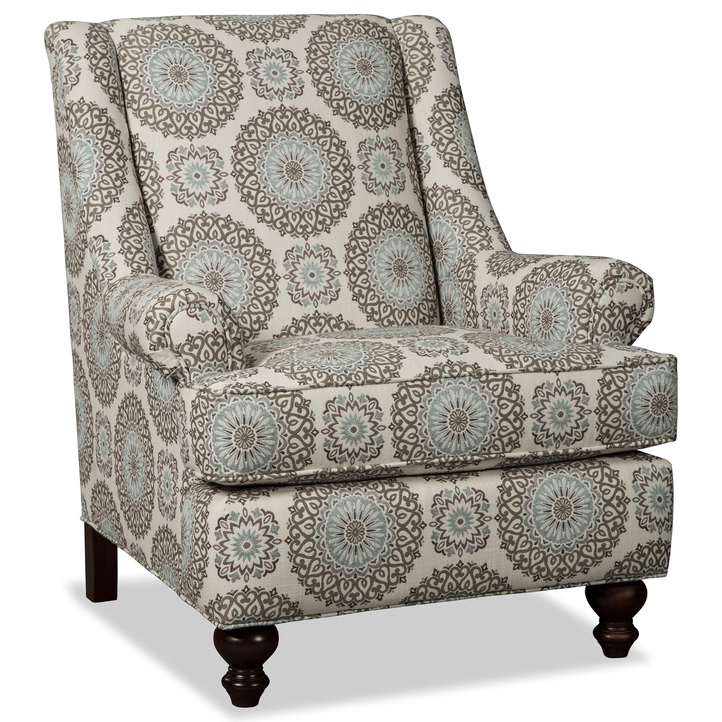 Craftmaster Accent ChairsChair  sc 1 st  VanDrie Home Furnishings & Craftmaster Accent Chairs Traditional Chair with Rolled Panel Arms ...