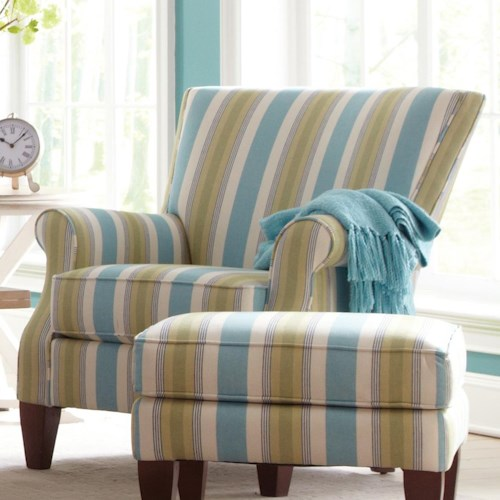 Cozy Life Accent Chairs Contemporary Upholstered Chair with Rolled Arms
