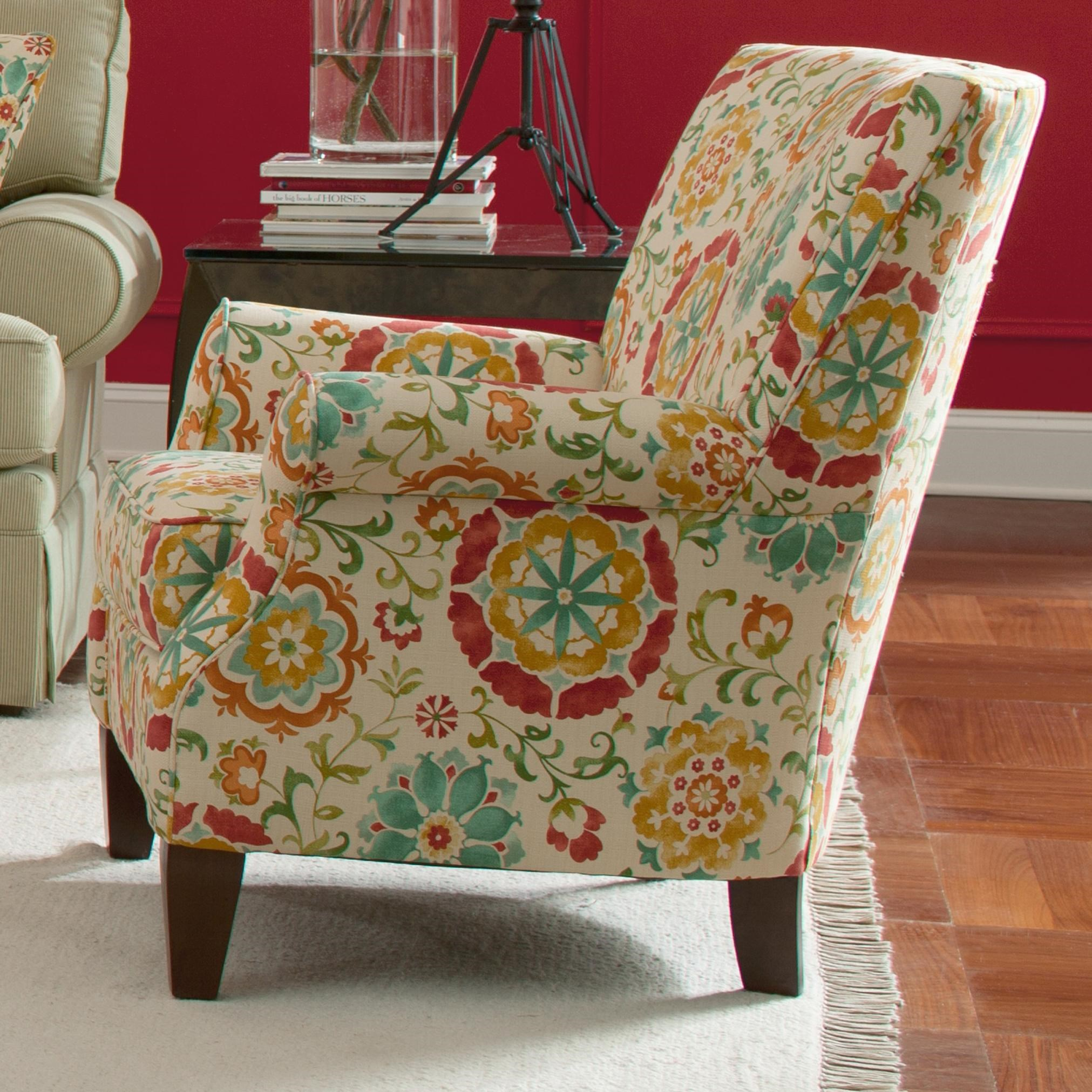 Interesting Red Accent Chair With Arms Chairsbeautiful Ottoman