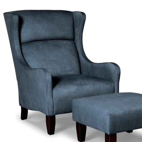 Cozy Life Accent Chairs Modern Wing Chair