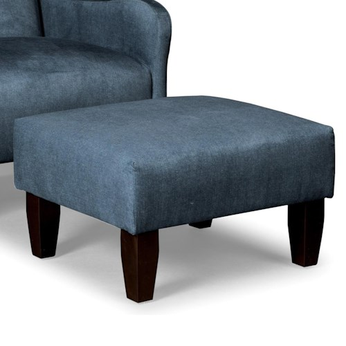 Cozy Life Accent Chairs Modern Ottoman with Tight Cushion