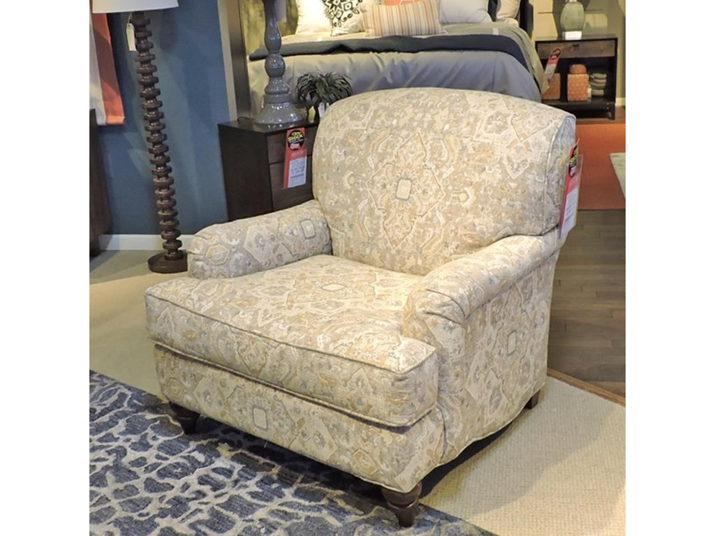 Craftmaster Accent ChairsEnglish Arm Chair with Deep Seat