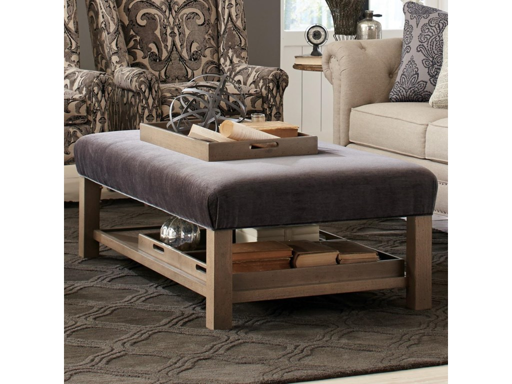 Craftmaster Accent Ottomansstorage Bench Ottoman With Tray Storage