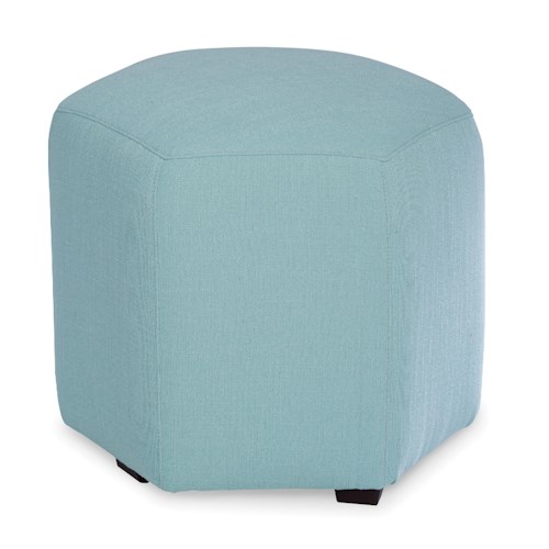 Cozy Life Accent Ottomans Accent Hexagon Ottoman