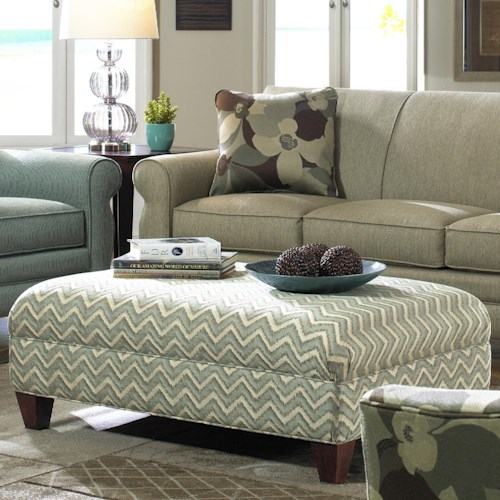 Cozy Life Accent Ottomans Large Rectangular Cocktail Ottoman