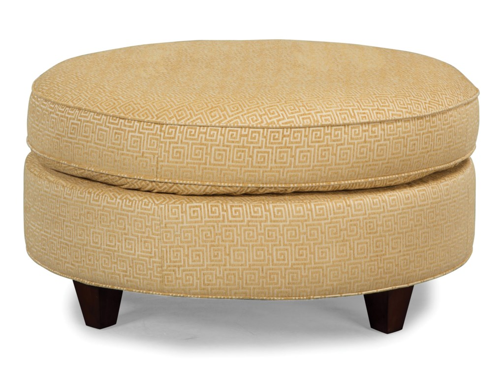 Craftmaster Accent OttomansRound Cocktail Ottoman