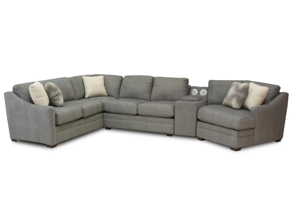 Hickory Craft Austin4 Piece Sectional