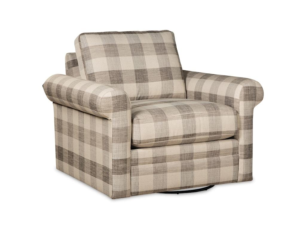 Craftmaster F9 Custom CollectionCustom Swivel Chair