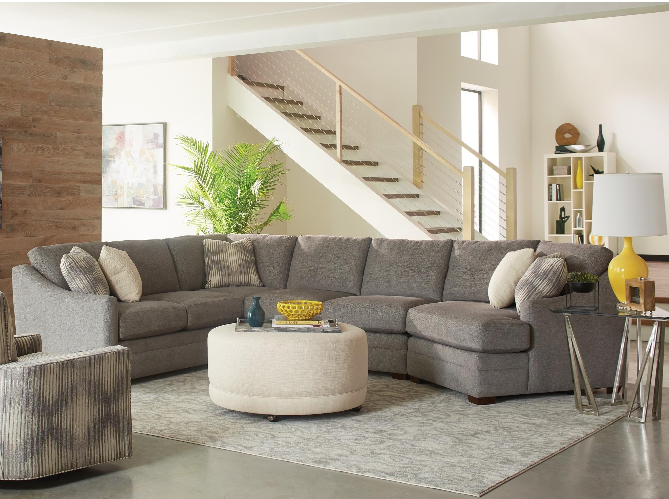 Craftmaster F9 Custom Collection3 Pc Sectional Sofa ...