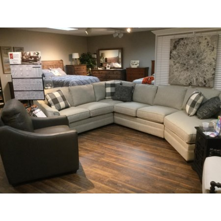 3 Piece Customizable Sectional