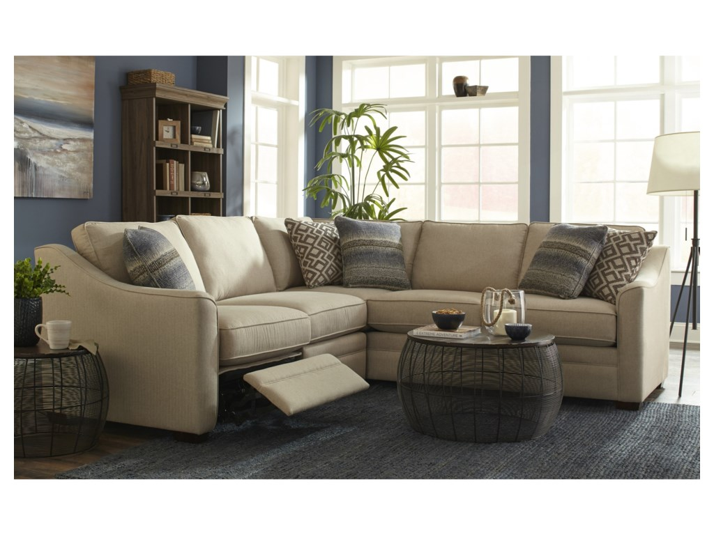 Craftmaster F9 Custom CollectionCustom 2 Pc Sectional w/ Recliner