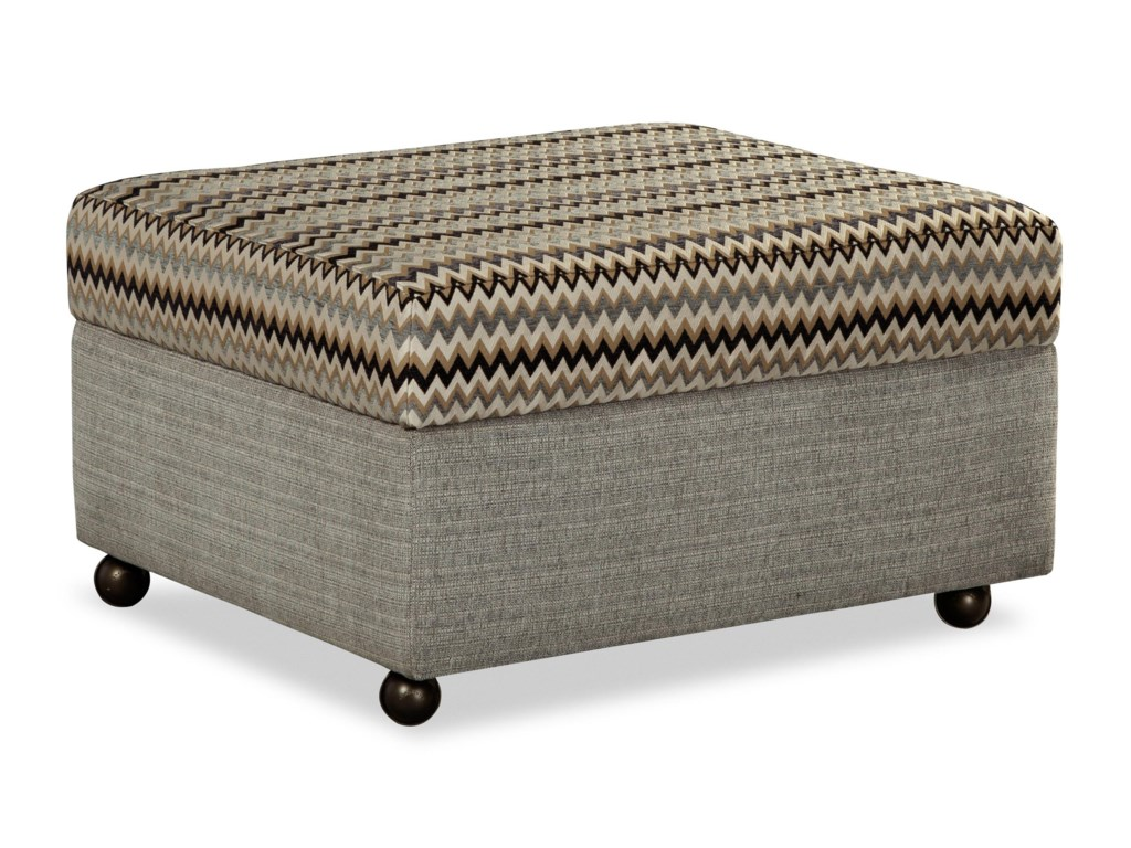 Craftmaster F9 Custom CollectionStorage Ottoman