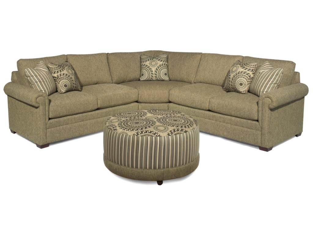 Craftmaster f9 custom collectioncustom 3 piece sectional