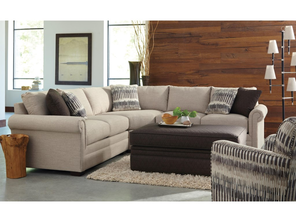 Craftmaster F9 Custom Collection<b>Custom</b> 3-Piece Sectional