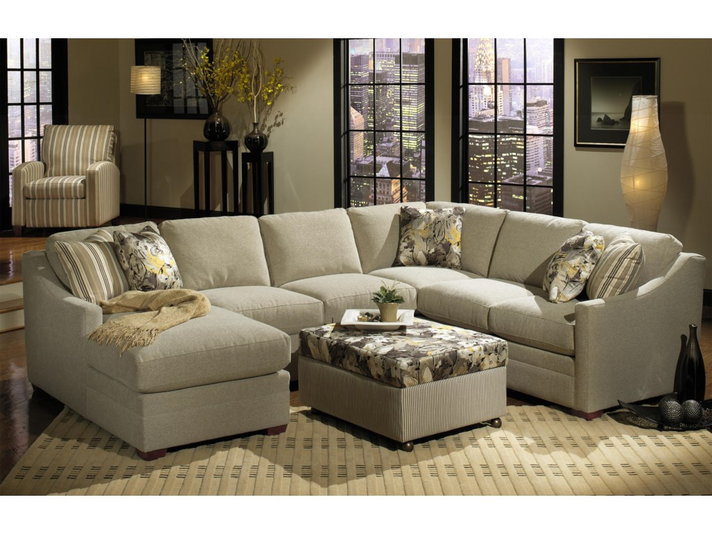 Craftmaster F9 Design Options<b>Custom</b> 3-Piece Sectional