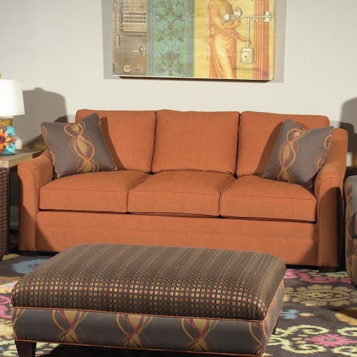 Cozy Life F9 Custom Collection <b>Customizable</b> 3-Seat Stationary Sofa
