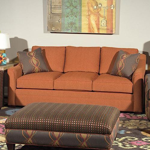 Craftmaster F9 Custom Collection <b>Customizable</b> 3-Seat Stationary Sofa