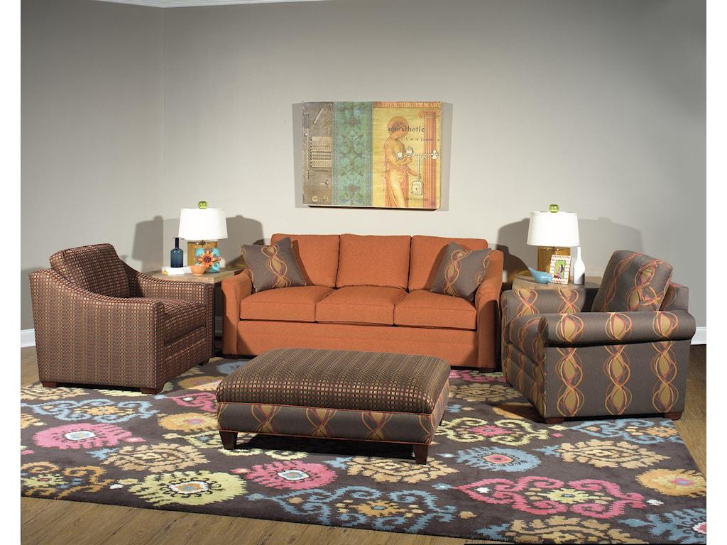 Craftmaster F9 Custom Collection<b>Custom</b> Sofa