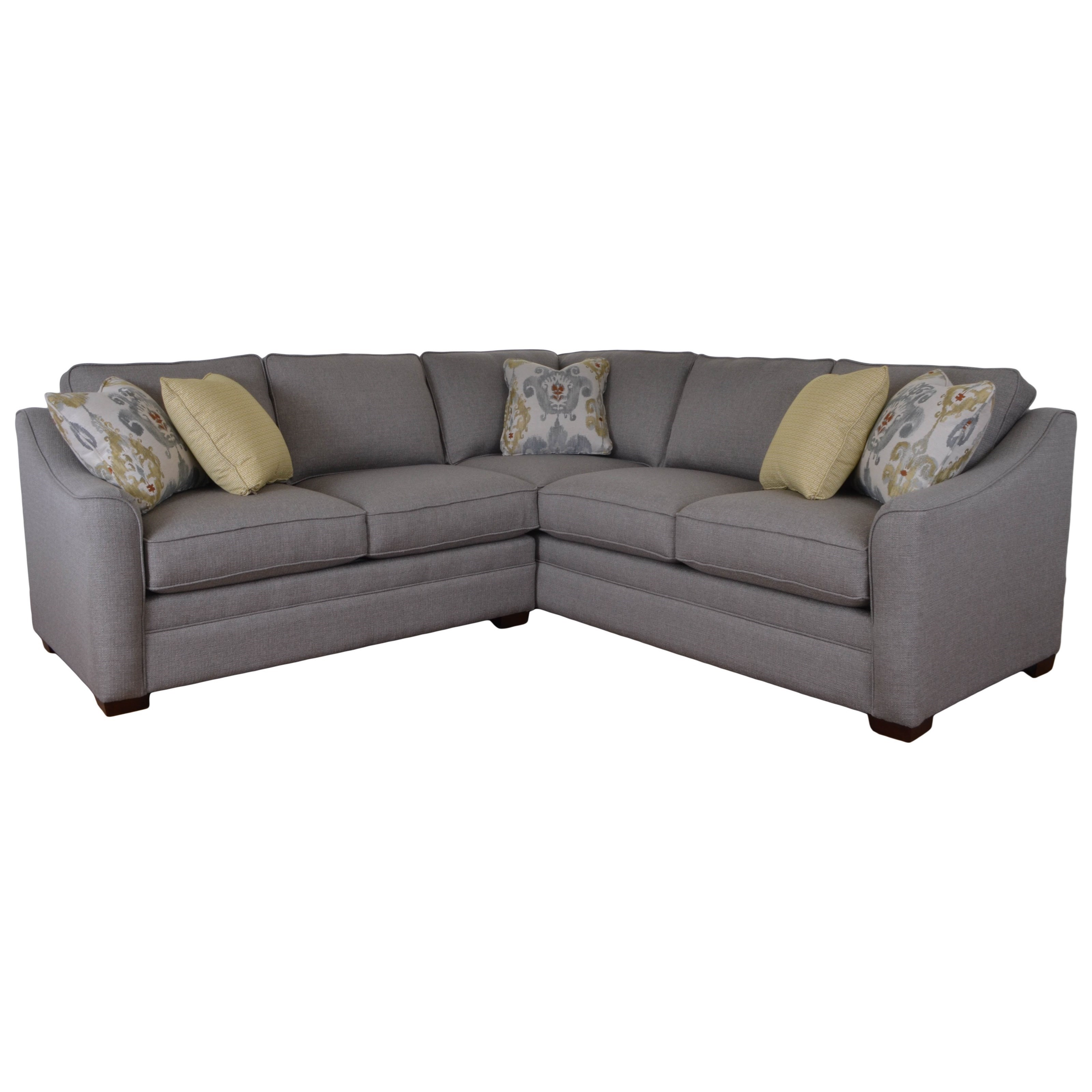 Craftmaster F9 Custom Collection Two Piece Customizable Corner Sectional Sofa with Left Return - Miskelly Furniture - Sectional Sofas  sc 1 st  Miskelly Furniture : craftmaster sectional - Sectionals, Sofas & Couches