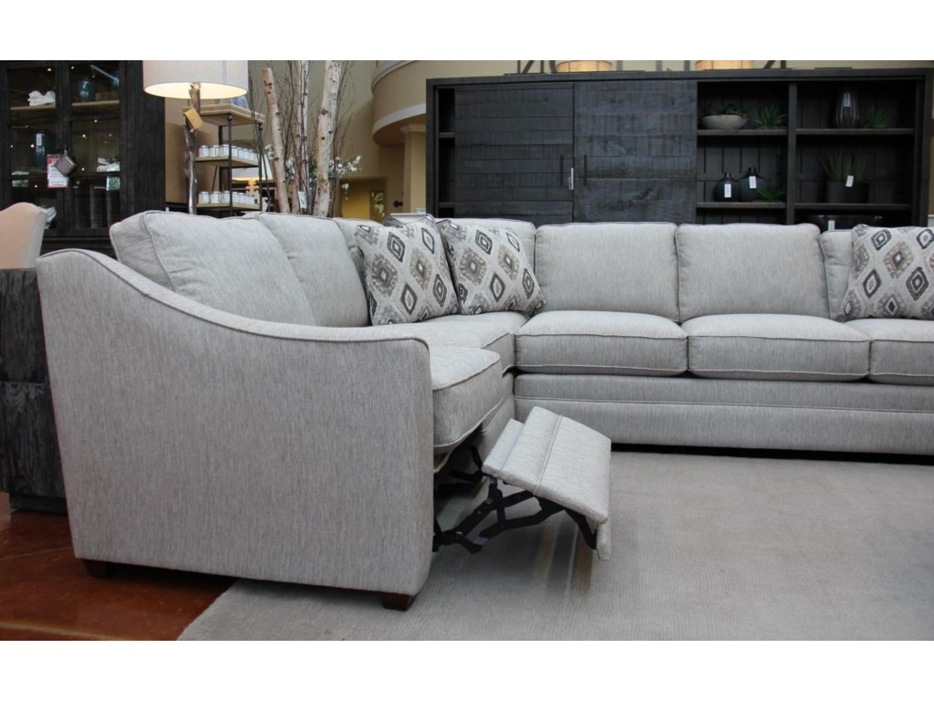 Craftmaster F9 Custom CollectionKaydence 2 Piece Sectional w/LAF Power Recli