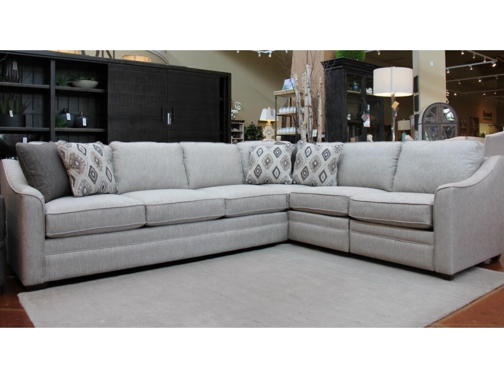 F9 Custom Collection Kaydence 2 Piece Sectional