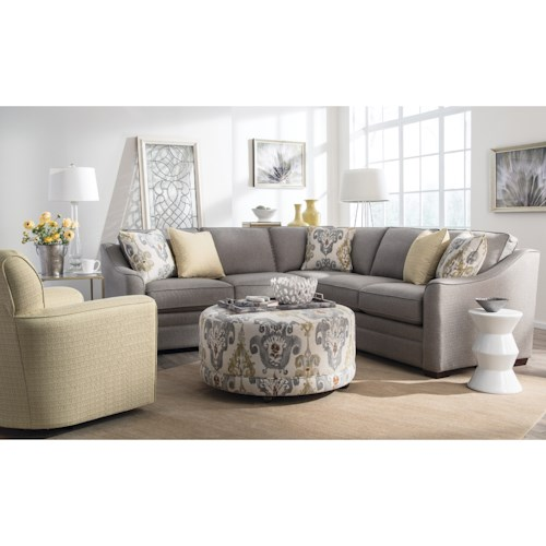 Craftmaster F9 Custom Collection Living Room Group
