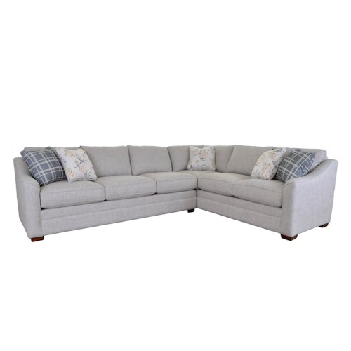 Br Thult Corner Sofa Bed Review: Craftmaster F941152/F941155 2 Pce Upholstered Sectional