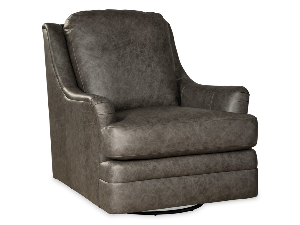 Craftmaster L084410 Transitional Swivel Glider Chair Find Your Furniture Upholstered Chairs