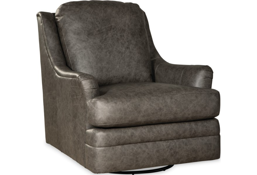Craftmaster L084410 Transitional Swivel Glider Chair Bullard Furniture Upholstered Chairs
