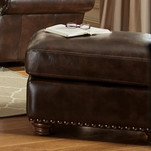 Craftmaster L161100 Traditional Ottoman