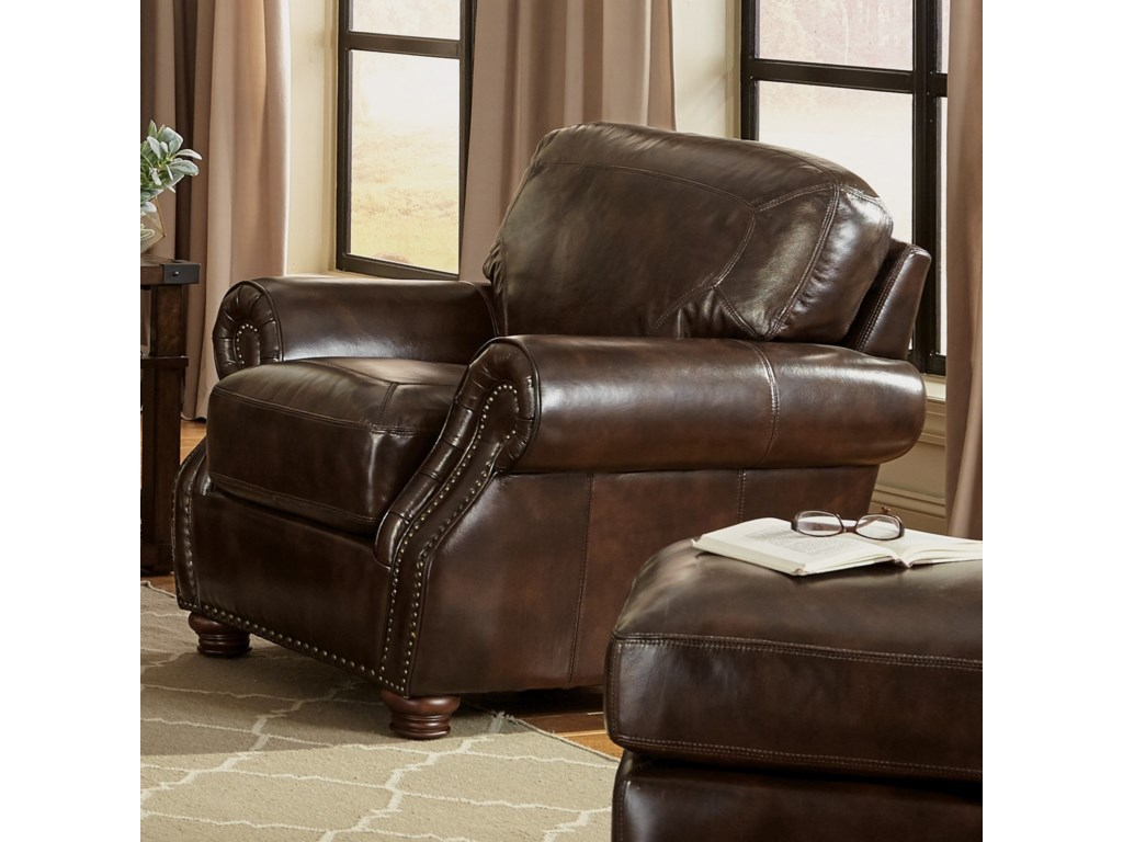 Craftmaster L161150Chair and Ottoman Set