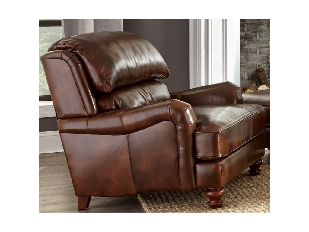 Craftmaster L162250Craftmaster Leather Chair