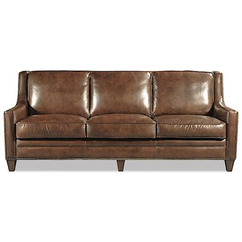 Craftmaster L162550 Transitional Nailhead-Studded Sofa
